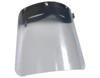 Protective Face Shield protects the wearer's whole face from being contaminated by splashes, sprays, and spatter of body fluids. Sold individually.